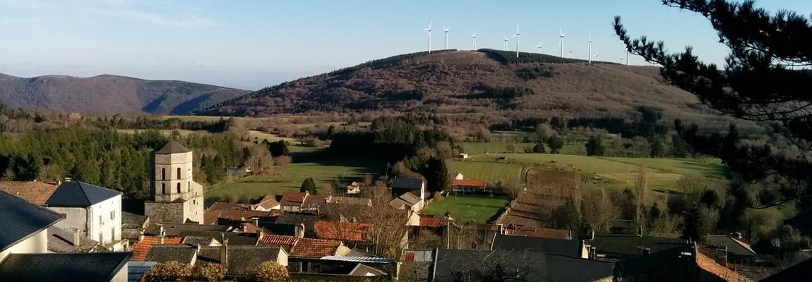 Pradelles-Cabardès, a nice village in 'La Montagne Noire'